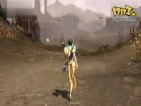 《剑灵》极品长腿短发美女走台步
