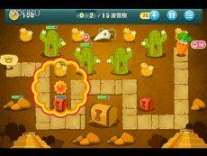 精彩片段 【zk】保卫萝卜沙漠第1关-单机游戏
