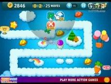 保卫萝卜电脑版天际8 小游戏视频攻略