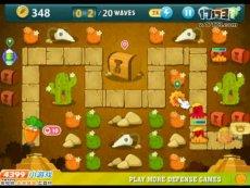 保卫萝卜沙漠模式第6关 小游戏视频攻略