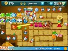 保卫萝卜沙漠模式第12关 小游戏视频攻略