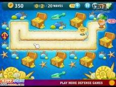 保卫萝卜沙漠模式第19关 小游戏视频攻略