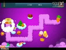 保卫萝卜正式版第3关 小游戏视频攻略