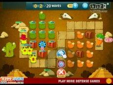 保卫萝卜沙漠模式第11关 小游戏视频攻略