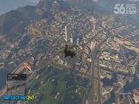 超清完整版 侠盗猎车手GTA5中的吊炸天特技-游戏视频