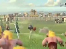 动画大作级《部落战争》超搞笑电视宣传片