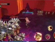《暗黑战神》狂战士大剑爆气状态操作视频实录