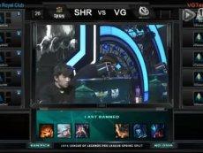 2015LPL春季赛第四周:SHR vs VG 第2场
