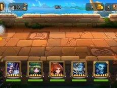 刀塔传奇英雄试炼女武神的对决难度7【游吧】