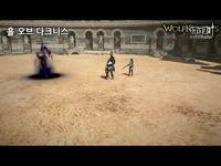 《狼骑士》技能展示视频