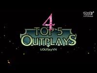 TOP 5 出乎意料反杀集锦-薇恩OP走位难以置信反