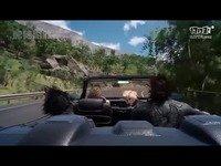 网游《最终幻想XV》汽车驾驶演示