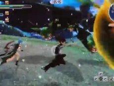 《刀剑神域》TGS2015失落之歌战斗画面