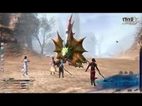 5仙剑6-鳄齿巨蜥BOSS战