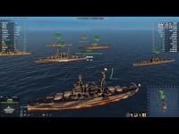 短片 海战世界-战列舰-宾西法尼亚-IKU