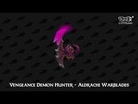 魔兽7.0军团再临恶魔猎手全专精胜游造型一览