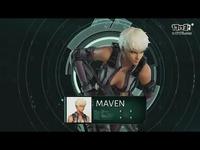 《攻壳机动队》Maven的介绍预告片