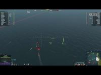 片段 海战世界--美系七级战列舰-科罗拉多1940-海战世界