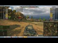 坦克世界—石喏 FCM50T斯特拉特福  8杀拉德利  好心救翻车的队友-原创 热点视频