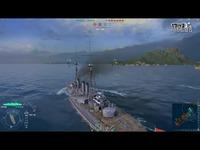 《战舰世界》World of Warships ?萧 从新手到高手的进阶之路 Ep3-倾城 精彩看点
