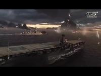 【WOWS GMV】蓝色大海上印照着的红色火光——《战舰