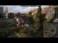 热推内容 坦克世界 游戏视频 德国德系10级 E100 坦克歼击车 大白兔百突 自行反坦克炮 火力支