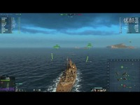 推荐视频 海战世界-神船-沙恩霍斯特-两场--竞技模式-Lion老虎解说-海战世界