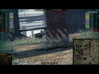 焦点内容 坦克世界 游戏视频 苏联苏系10级 S系Ⅹ级 268工程 自行反坦克炮 卡位扛线伏击 M级