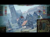 坦克世界 游戏视频 德国德系10级 D系Ⅹ级 莱茵杀手 蟋蟀15 150炮 自行反坦克炮 突击黑-游