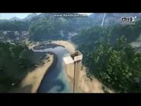 方舟还能这样玩!脑洞玩家打造世界最高跳水台