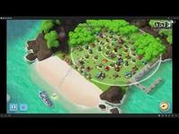九龙丶视频:海岛奇兵2月17号13本胖妹克隆岛3-5攻略