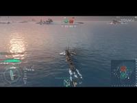 战舰世界黑天鹅标准战斗一对一被毁.mp4 热门短片