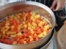 有家鲜厨房:薯饼玫瑰粥