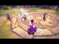 《仙剑奇侠传幻璃镜》驭灵幻化皮肤演示之紫萱