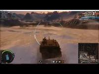 装甲战争五期国产PLZ-05瞬间秒人