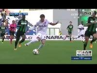 17—18赛季意甲联赛第6轮集锦萨索洛VS博洛尼亚