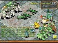 《石器时代2.5》绿人龙战队vs杂牌军战队