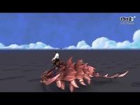 魔兽世界 8.0测试服 三叶虫坐骑预览 -