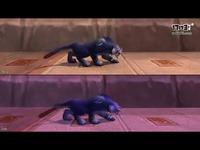 魔兽8.0德鲁伊野性(猫)形态奔跑步行新动画